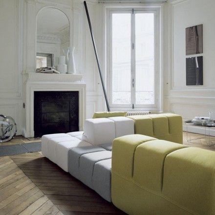 TuftyTime Modular Sofa Comp B in Fabric by BB Italia Patricia