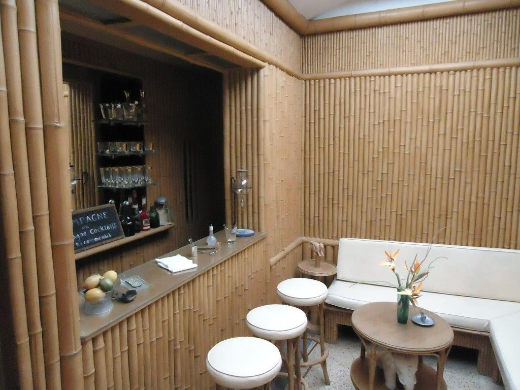 Decorating Bamboo House Design Photos Restaurant Bamboo Interior
