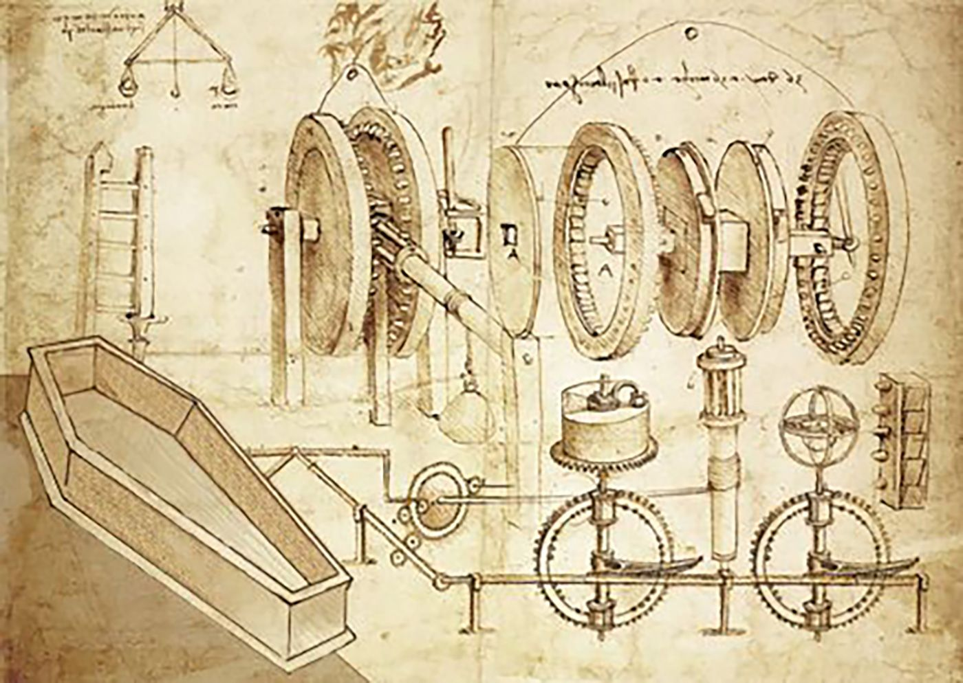 Image Result For Old Illustrations Blueprints Da Vinci Mieszkanie Catapult Diagram Viewing Gallery