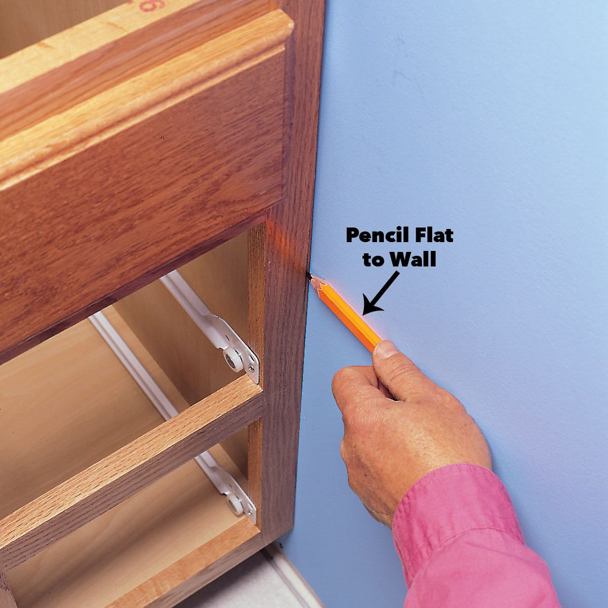 How To Scribe For A Perfect Fit Woodworking Layout
