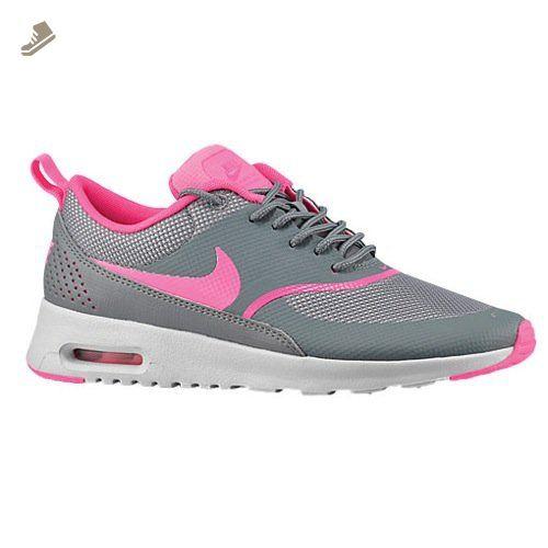 Nike Women's Air Max Thea Running Shoe Cool Grey/Pure Platinum/Pink Pow 11