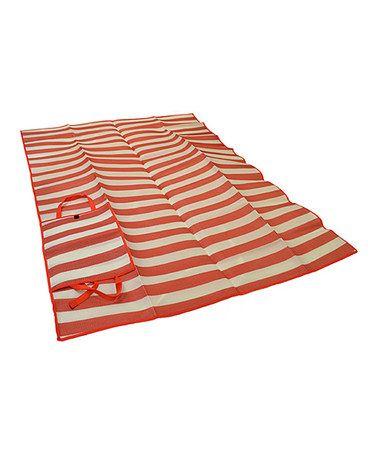 Red Stripe Travel Matt @tonjaamen