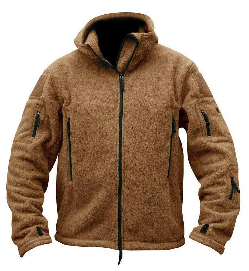 Ranger Military Fleece Hoodie Jacket Men Thermal Polar Fleece ...