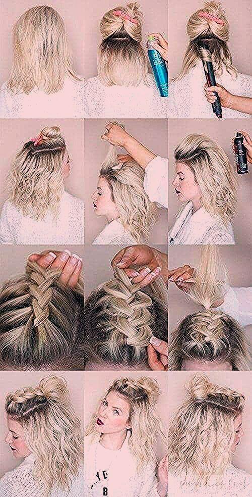 27 Braid Frisuren für kurze Haare, die einfach wunderschön sind - Neue Damen Frisuren - Mein Blog
