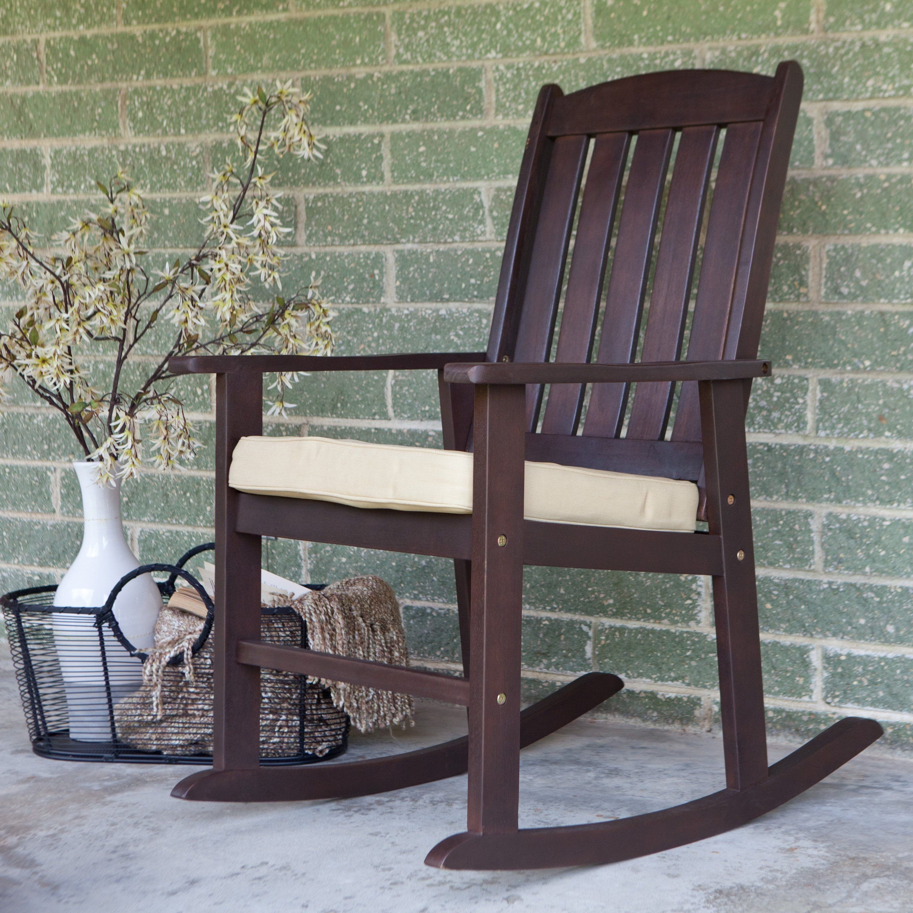 Cabos collection rocking chair with cushion 12999