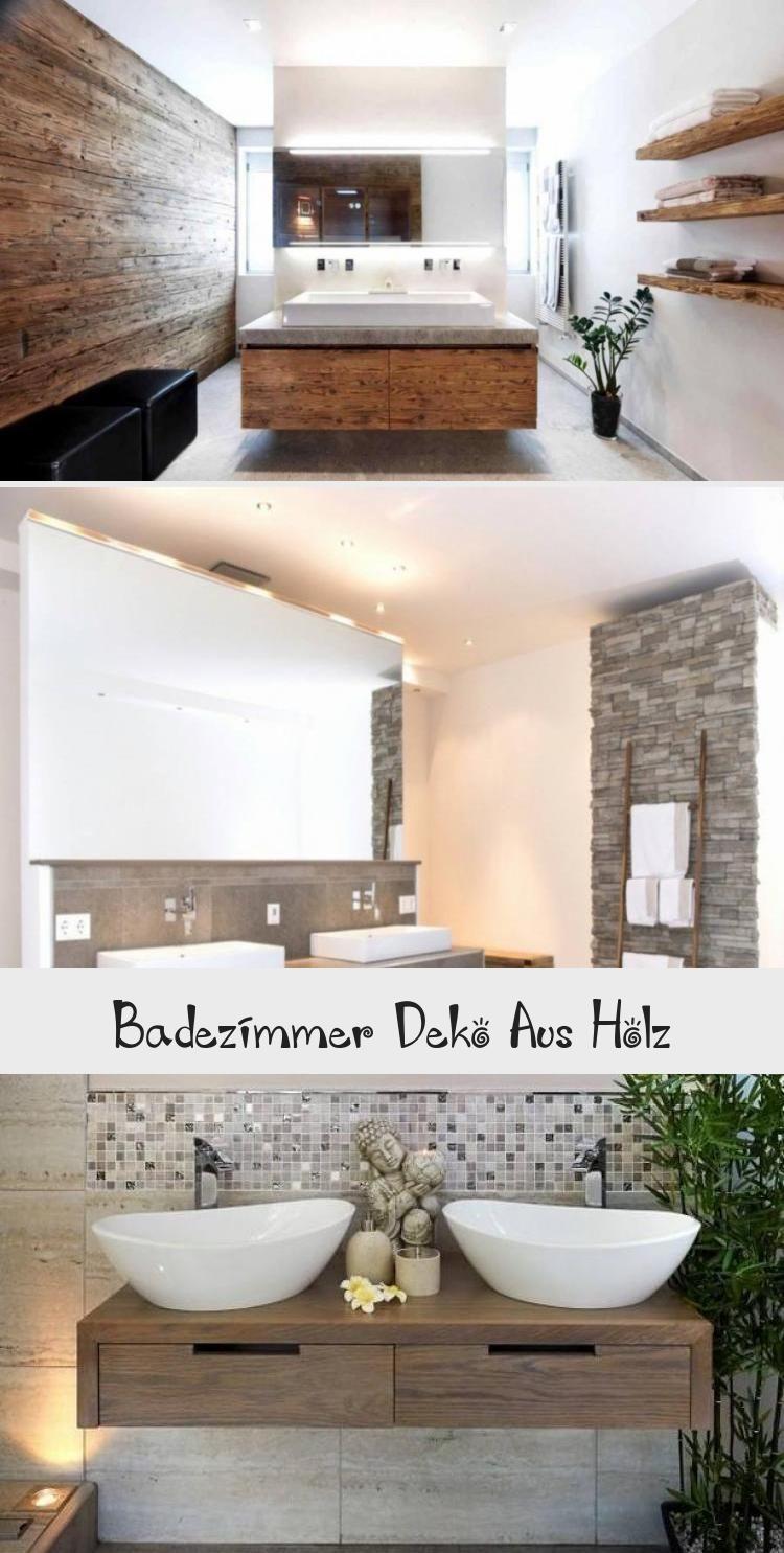 Badezimmer Deko Aus Holz Bathroom Bathtub Mango