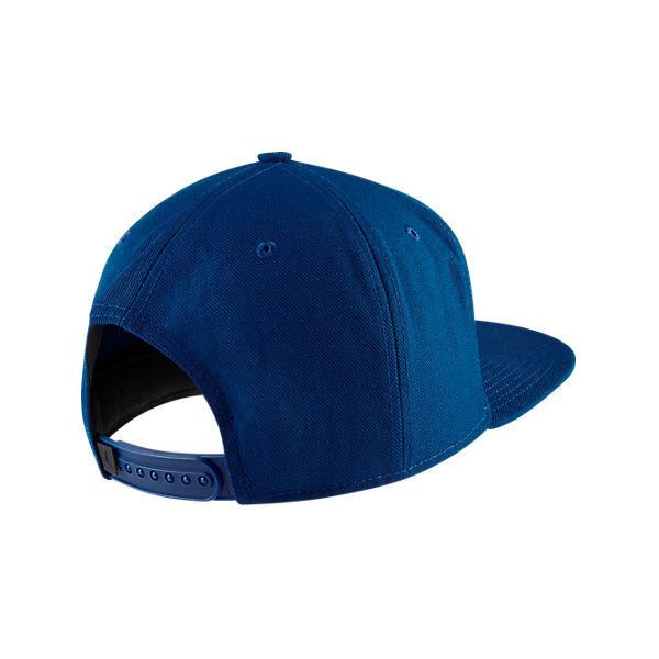 37146563e1d Nike Air Jordan 7 92 Retro Snapback Hat ($85) ❤ liked on Polyvore featuring  men's fashion, men's accessories, men's hats, blue and mens snapback hats