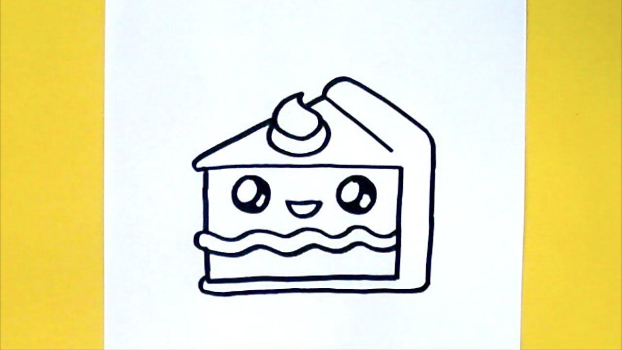 KAWAII CAKE - KUCHEN SELBER MALEN | Desenhos kawaii ...