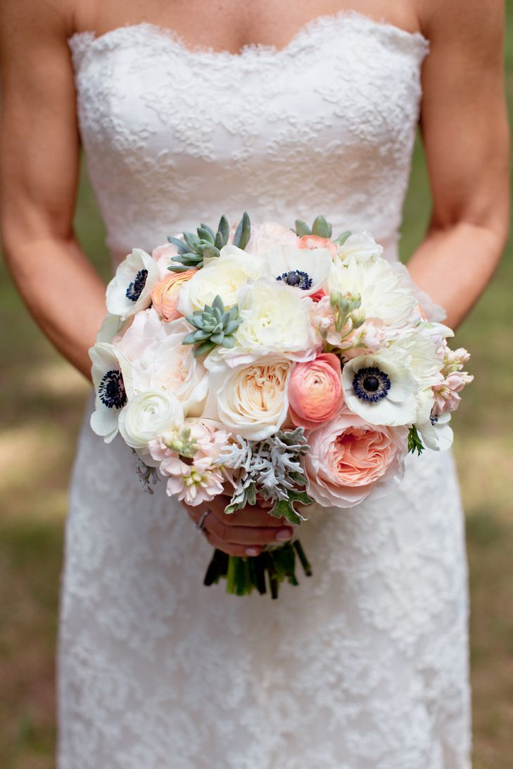 Vintage inspired anemone and peach ranunculus bouquet some day vintage inspired anemone and peach ranunculus bouquet izmirmasajfo