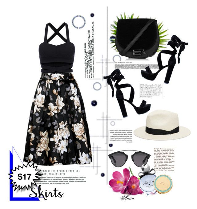 """""""Floral Skirt under $50"""" by wodecai on Polyvore featuring moda, rag & bone, Christian Dior i Kate Spade"""