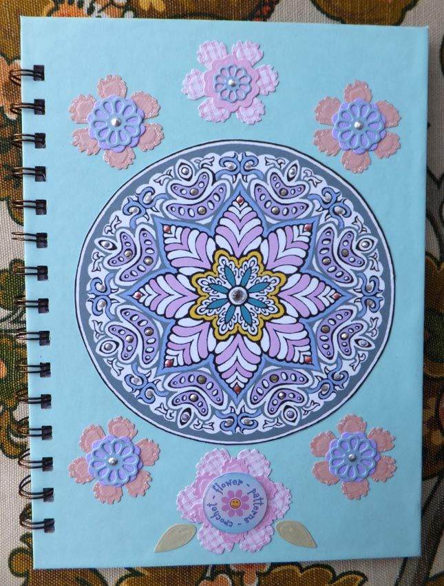Zutter bound crochet flower pattern book