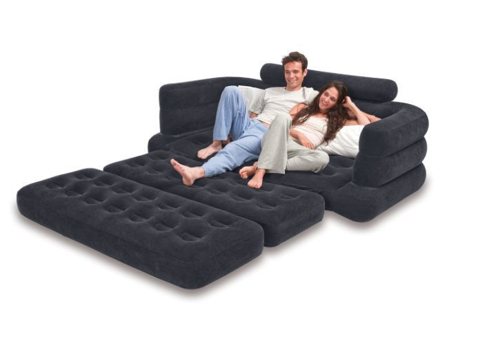 pull out sofa queen sleeper air mattress inflatable couch chair rh pinterest com intex sofa lounge inflatable intex ultra lounge sofa