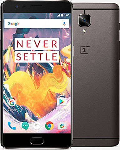 OnePlus 3T, OxygenOS 4.x (Android 7), 5.5 Zoll OPTIC AMOLED Display (1920x1080), 6 GB RAM, 64 / 128 GB ROM, Dual-SIM +++ Preis: ab 439 EUR (Stand: 01/2017) +++ Test: http://www.notebookcheck.com/Test-OnePlus-3T-Smartphone.186712.0.html