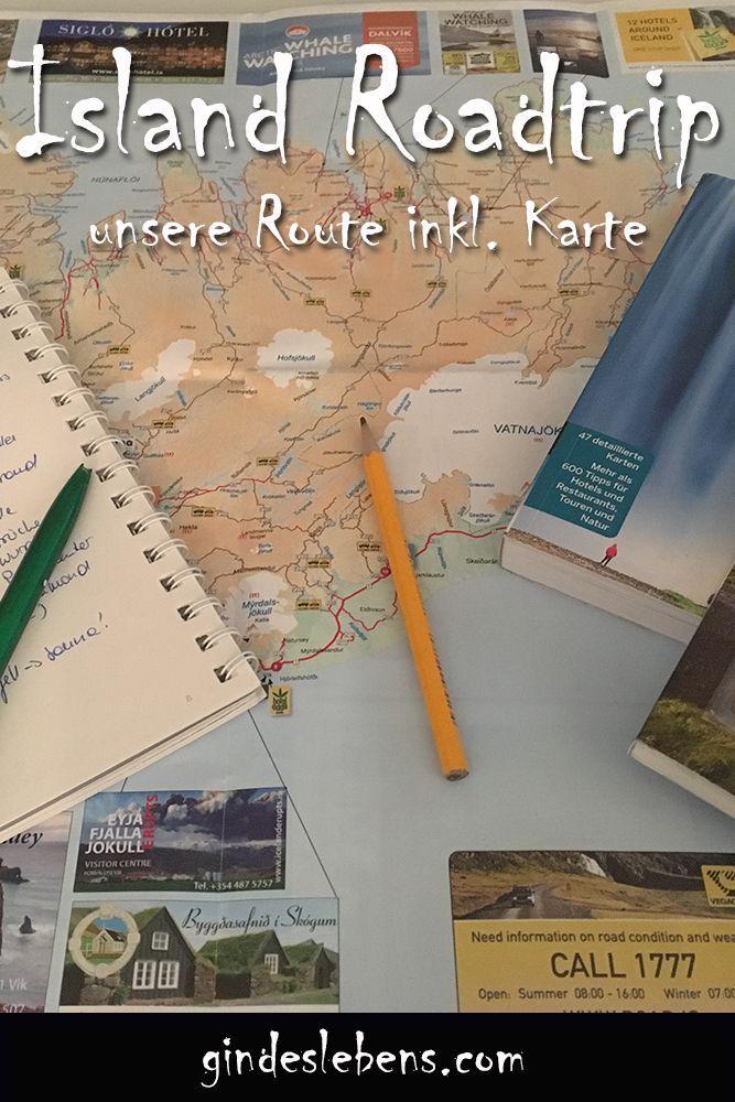 Island Roadtrip Route Fur 8 Tage Island Rundreise Mit Karte Road