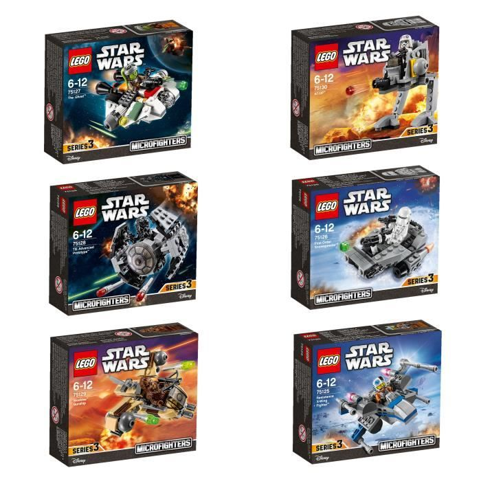 bonplan jeux et jouets cdiscount lego starwars bundle microfighters s rie 3 pack. Black Bedroom Furniture Sets. Home Design Ideas