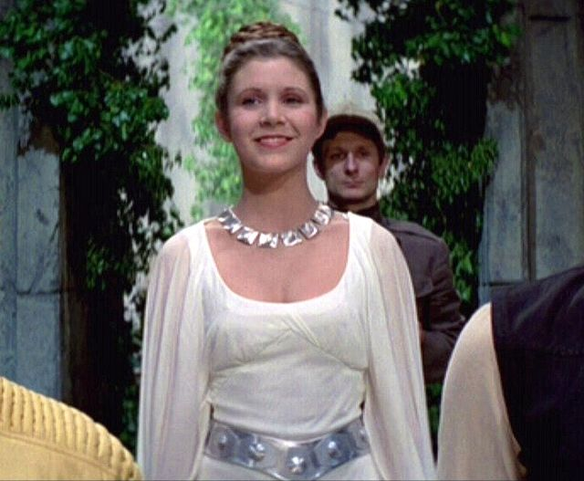 Princess Leia ceremonial gown from \