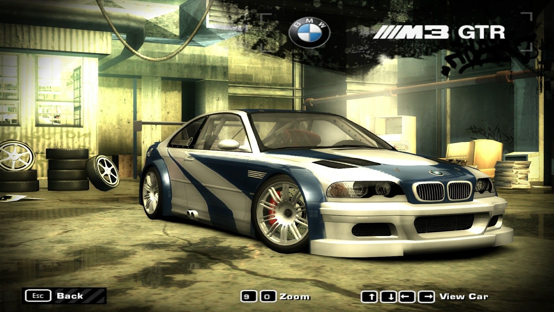 Bmw M3 Gtr E46 Need For Speed Most Wanted 2005 Bmw Bmw M3