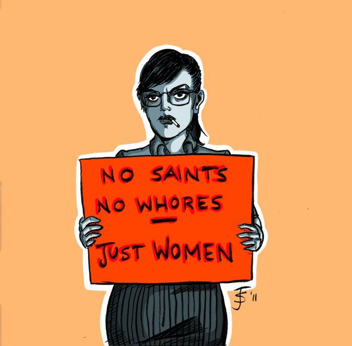 cafecoquins ni santas ni putas sólo mujeres