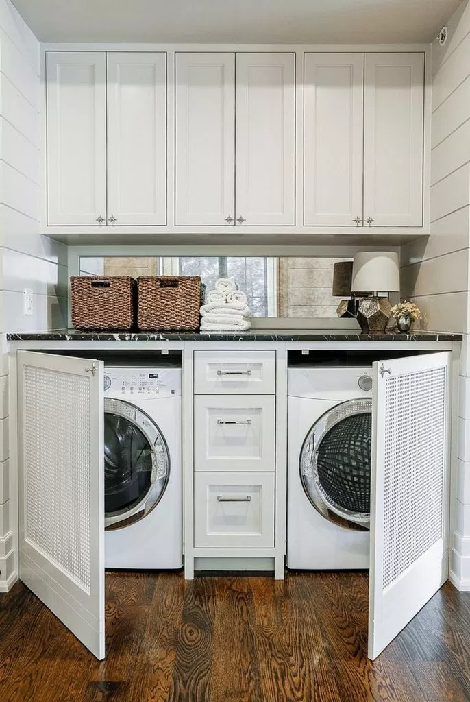 10 Clever Cabinet Ideas For Small Laundry Rooms