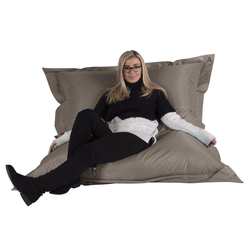 sitzsack xxl sitzsack outdoor big bertha sitz sack grau big bertha einrichten. Black Bedroom Furniture Sets. Home Design Ideas