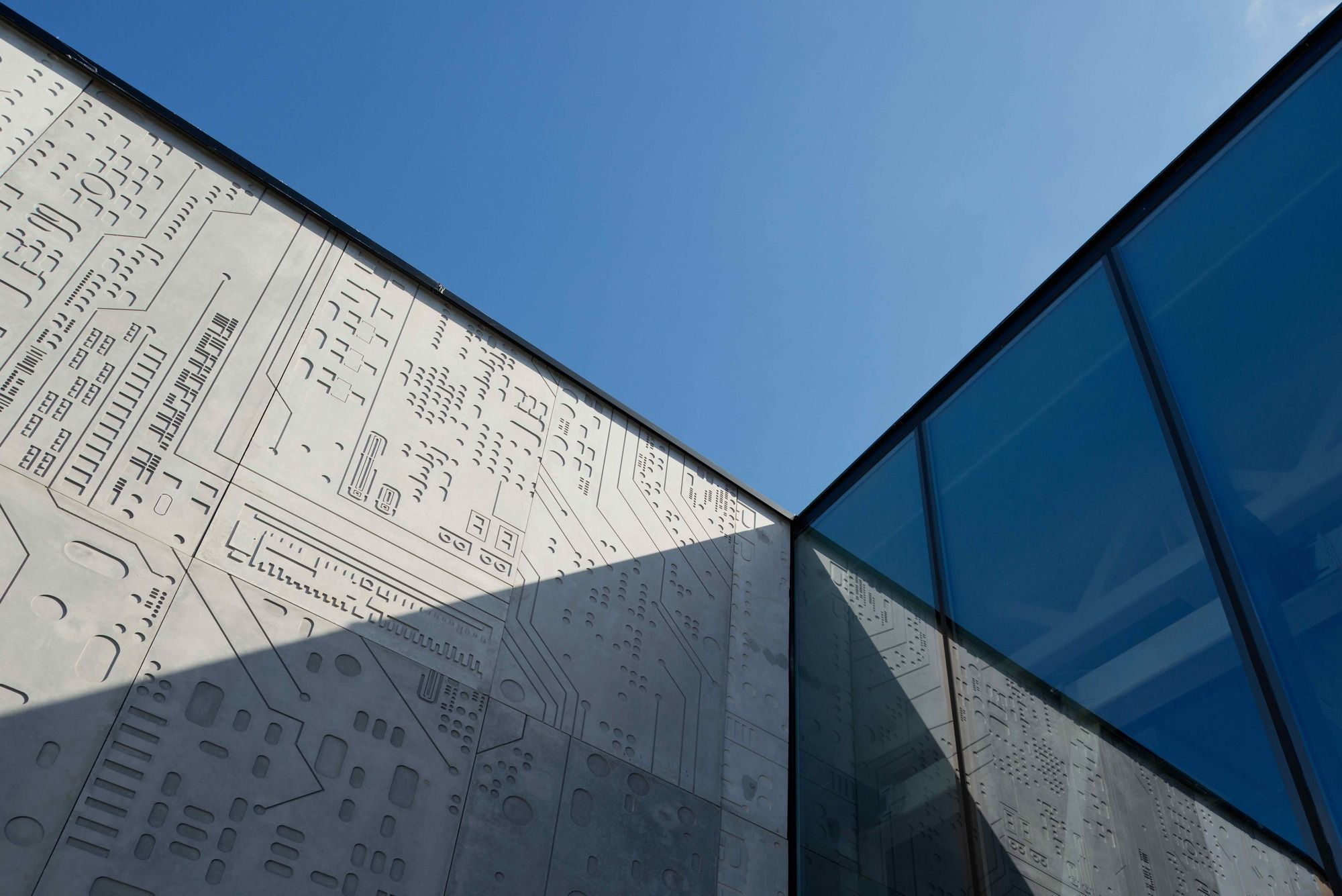 Architecture Bureau Wall : Gallery of pavilion dit [department of information technology
