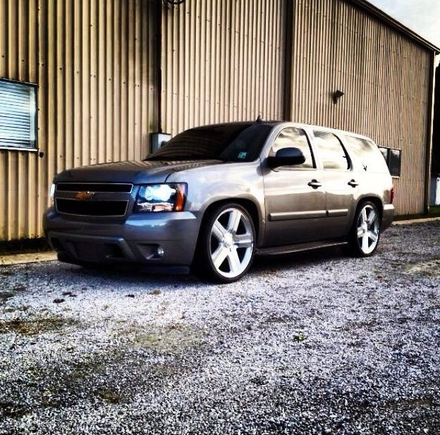 Too Sexy #Chevy#Tahoe#Lowered