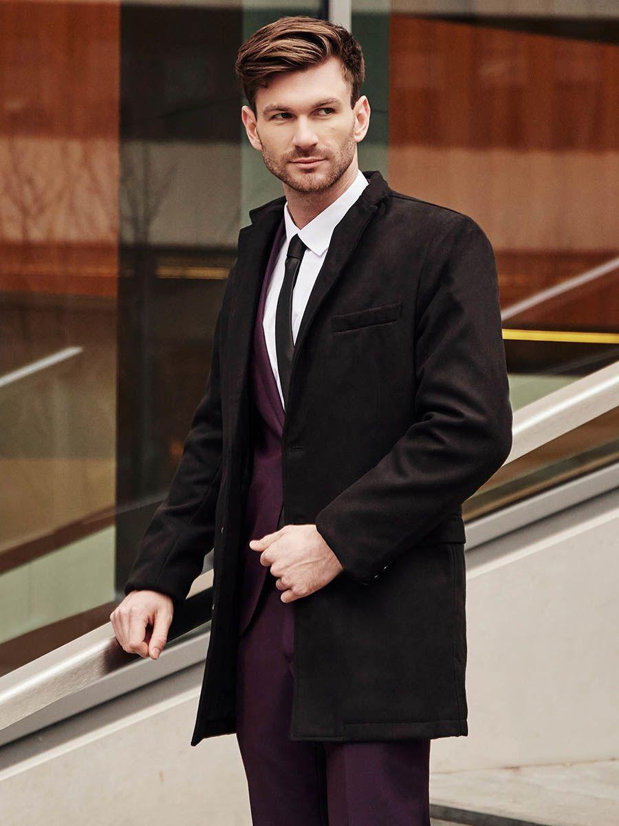 Stylizacja Nr 383 Plaszcz Dyplomatka Garnitur Elegancka Koszula Krawat Chesterfield Coat Elegant Shirt Fashion
