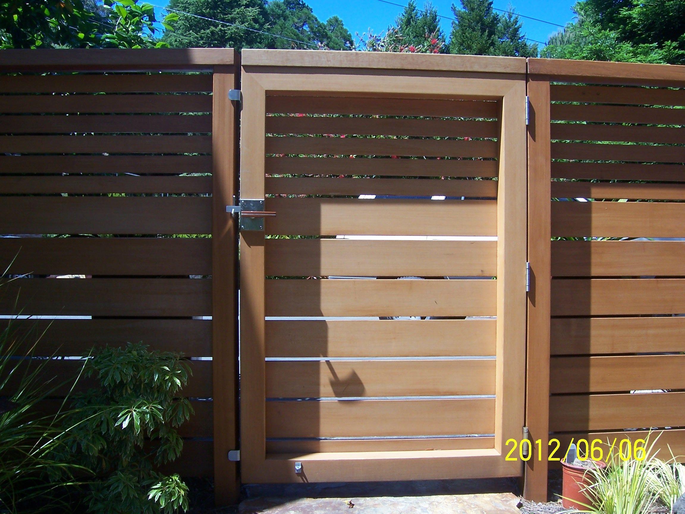 horizontal wood fence gate. Moda Contemporary Gate Latch On Horizontal Wood Gate. Hardware By 360 Yardware. Fence A
