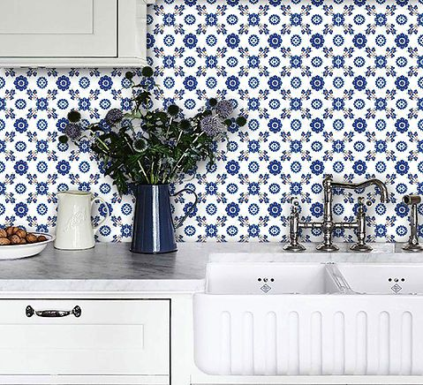 Peel N Stick Tile Stickers Cover Up Those Old Kitchen Tiles 3