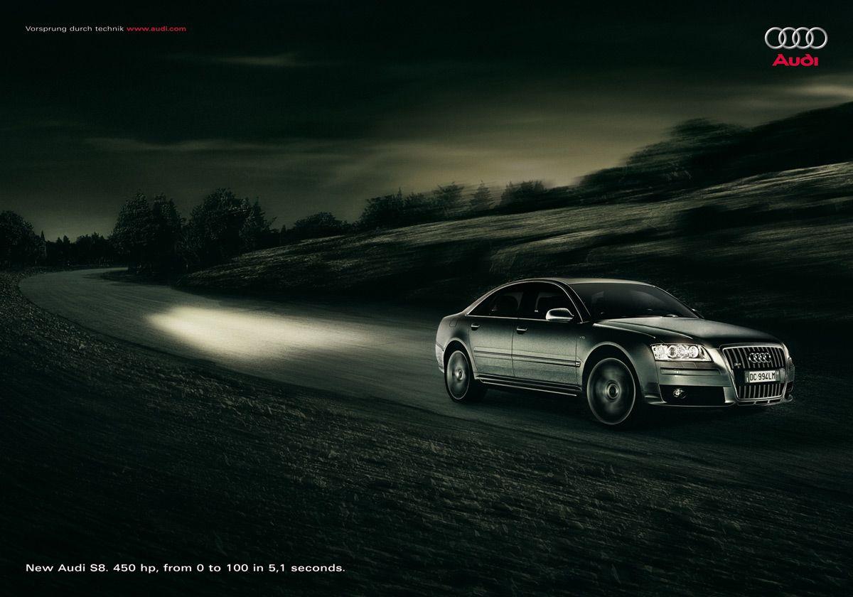 Audi #3 | Ad Journal Blog | Branding | Car, Car pictures, Audi