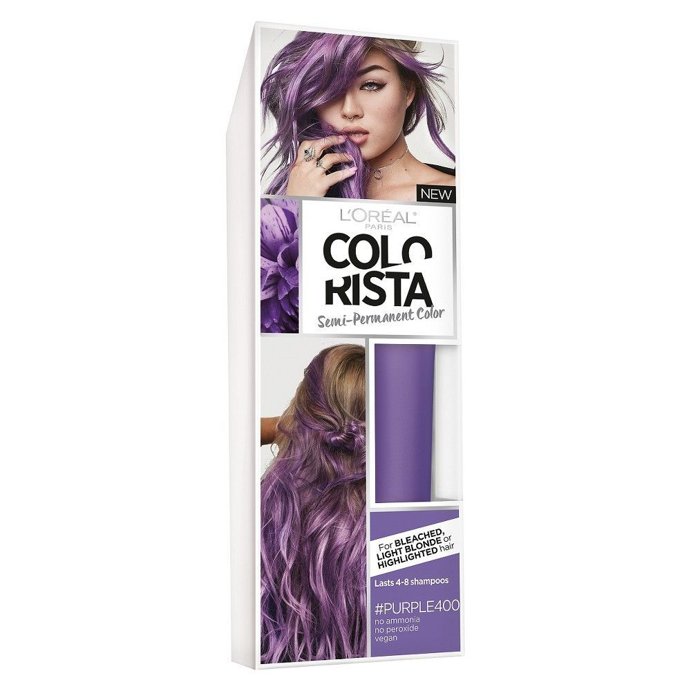L Oreal 174 Paris Colorista Semi Permanent Hair Color For