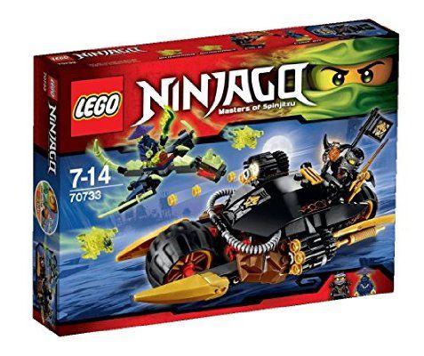 Lego Ninjago - Playthèmes - 70733 - Jeu De Construction - La Moto Multi-missiles