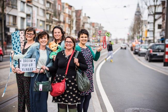 Antwerpen: Veertien startende ondernemers maken het in acht pop-upshops op Bredabaan in Merksem