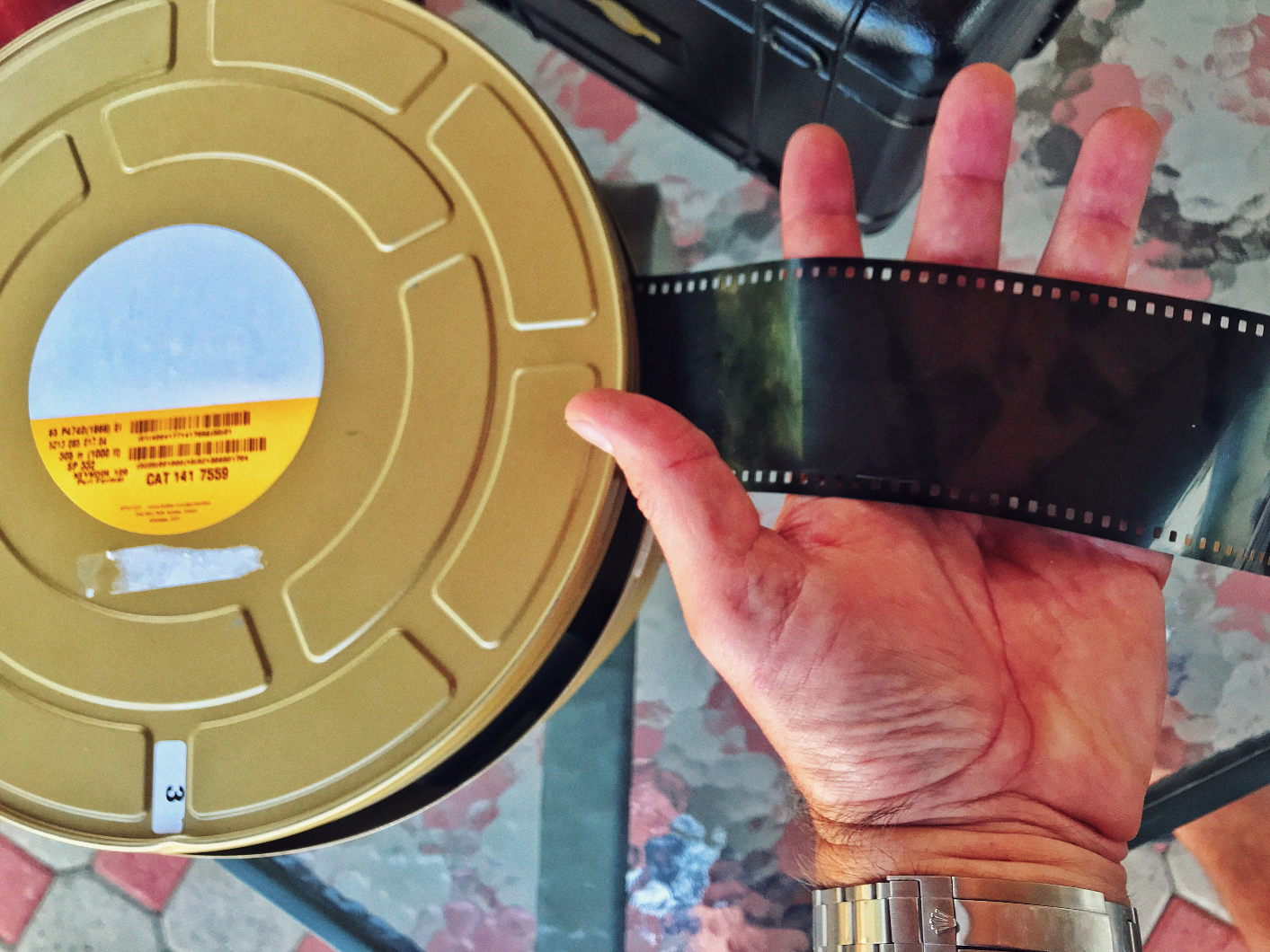 65mm motion picture film is bigger than you think  Here's a 1,000