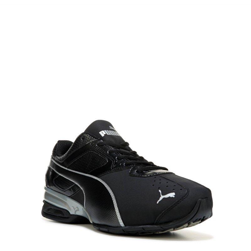 87b76b2d1b1 Puma Men s Tazon 6 X-Wide Softfoam Running Shoes (Black Silver)