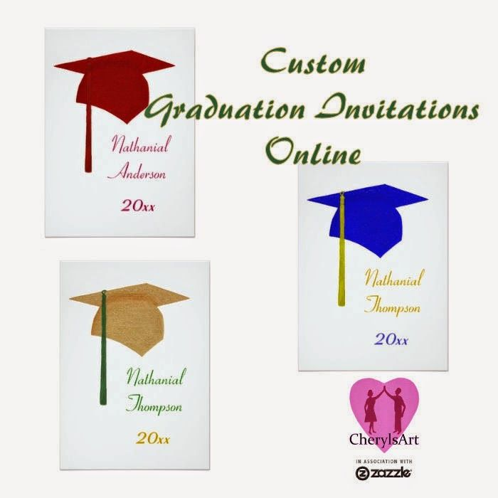 art on products custom graduation invitations online there are a