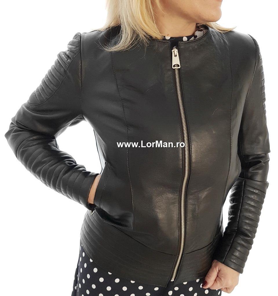 mai bine la câteva zile distanță marimea 7 Haina dama piele naturala TF39-N | Fashion, Jackets, Leather jacket