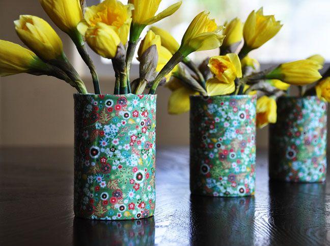 diy tutorial: Unexpected Vase