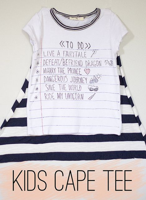 summer staples series // kids cape tee by girl like the sea