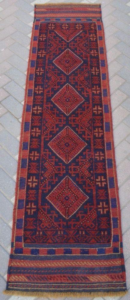 2' x 7'8 Ft, Vintage Afghan Tribal Rug Kilim Runner Turkish Kilim Ethnic Runner #Tribal