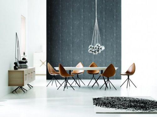 Designed By Karim Rashid For Boconcept The Ottawa Collection Includes A Complete Dining Room Set With Ta Avec Images Mobilier De Salon Meuble Salle A Manger Deco Design
