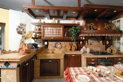 Cucina muratura | Cucina Muratura | Pinterest | Cucina, Cucine e ...