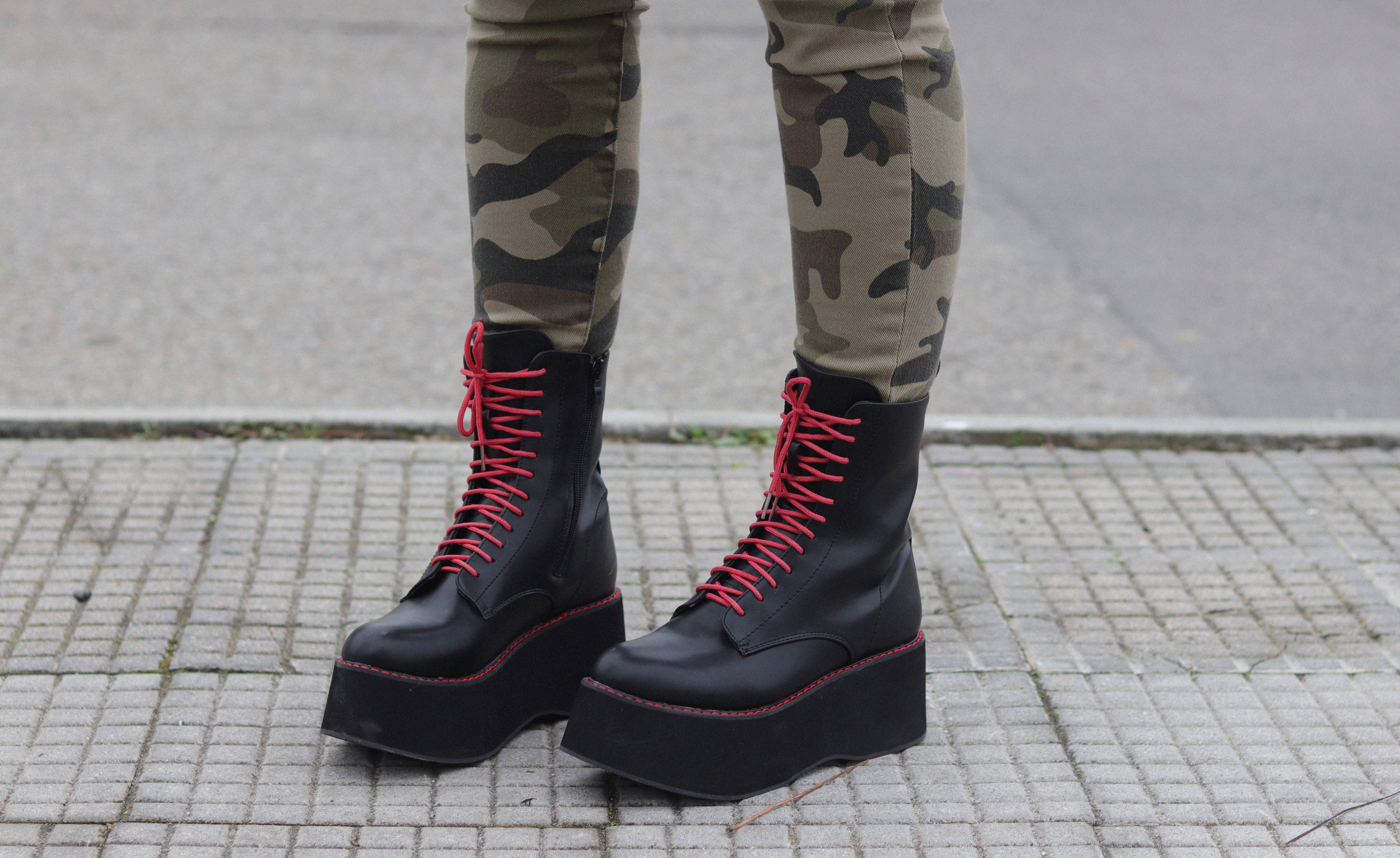 Trendencies Blog | Black combat boots