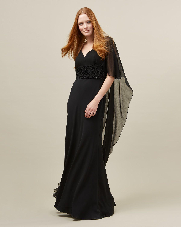Vera cape full length dress dress pinterest full length