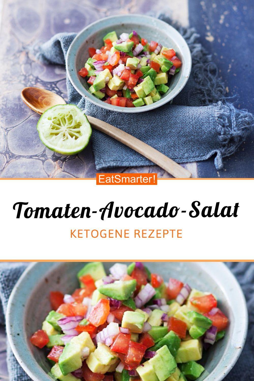 Tomatensalat mit Avocado - smarter - Kalorien: 169 kcal - Zeit: 15 Min. |