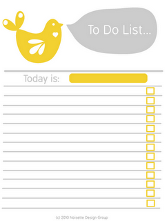 Printable To Do List  Print    Dry Erase Markers