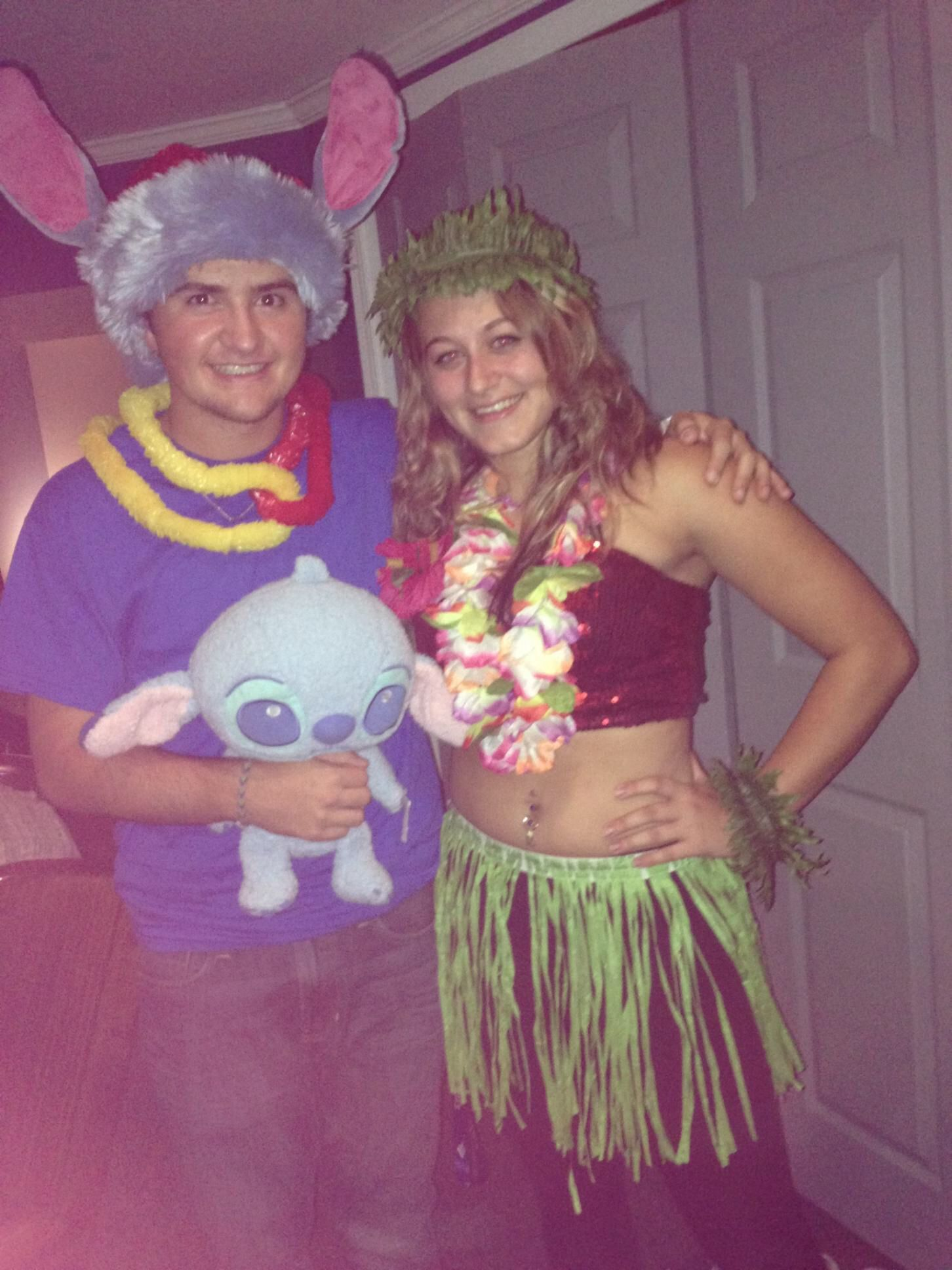 Stitch Halloween Makeup Lilo And Stitch Great Couple Costume Couple