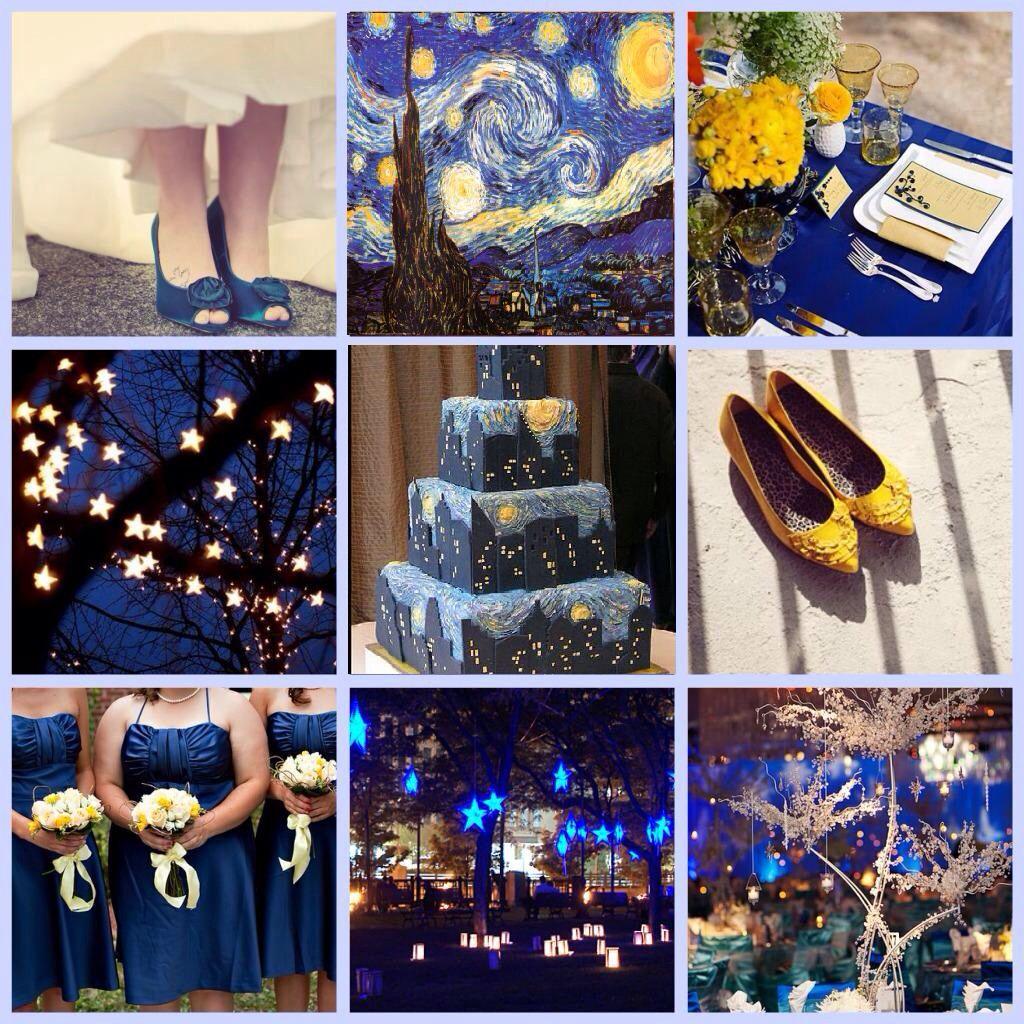 Night Wedding Ideas Decorations: Starry Night Wedding