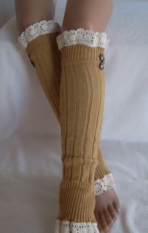 Mustard SocksBoot socks boot cuffsleg warmers