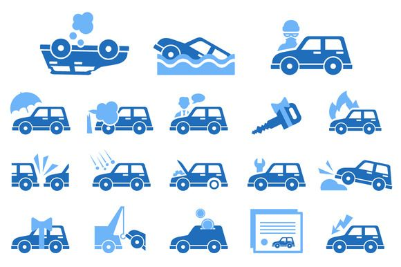 Car Insurance Icons Car Insurance Free Cars Business Icon
